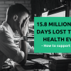 15.8 million working days lost to mental health every year – how to read the signs and support your employees.